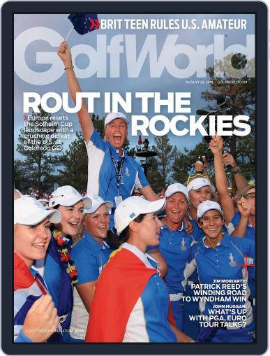 Golf World (Digital) August 22nd, 2013 Issue Cover