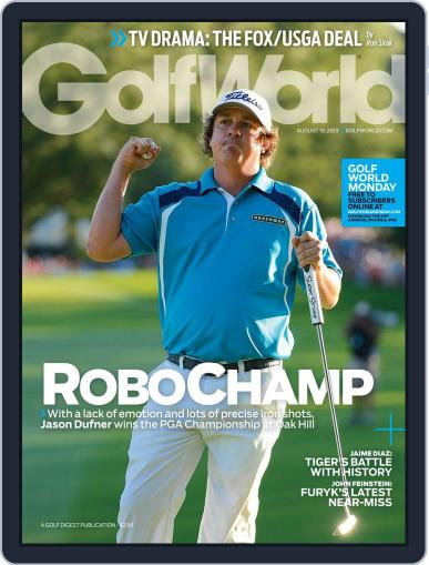 Golf World (Digital) August 15th, 2013 Issue Cover