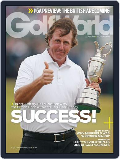 Golf World (Digital) July 25th, 2013 Issue Cover