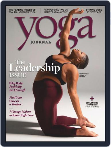 Yoga Journal (Digital) January 1st, 2019 Issue Cover