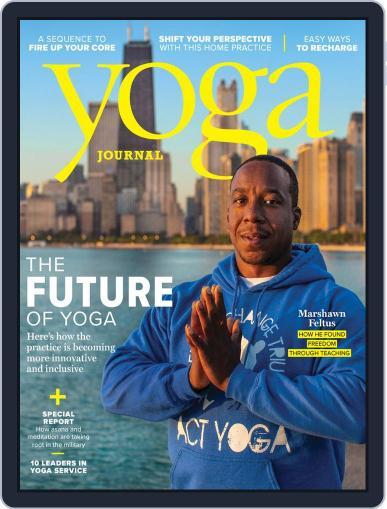 Yoga Journal (Digital) October 1st, 2018 Issue Cover