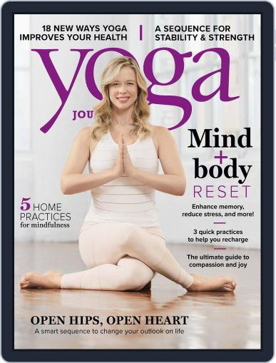 Yoga Journal (Digital) May 29th, 2018 Issue Cover