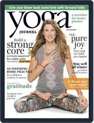Yoga Journal (Digital) Subscription October 20th, 2015 Issue