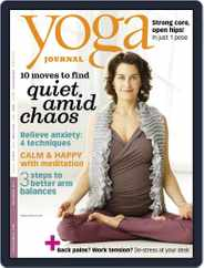 Yoga Journal (Digital) Subscription October 12th, 2011 Issue