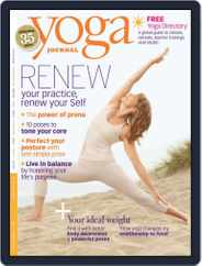 Yoga Journal (Digital) Subscription January 5th, 2010 Issue