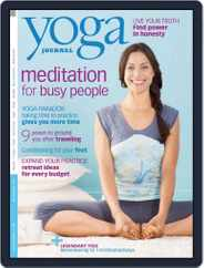 Yoga Journal (Digital) Subscription October 15th, 2009 Issue