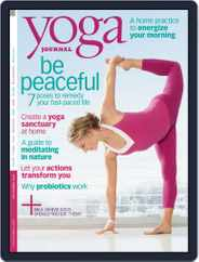 Yoga Journal (Digital) Subscription August 5th, 2008 Issue