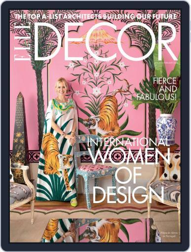 ELLE DECOR January 1st, 2020 Digital Back Issue Cover