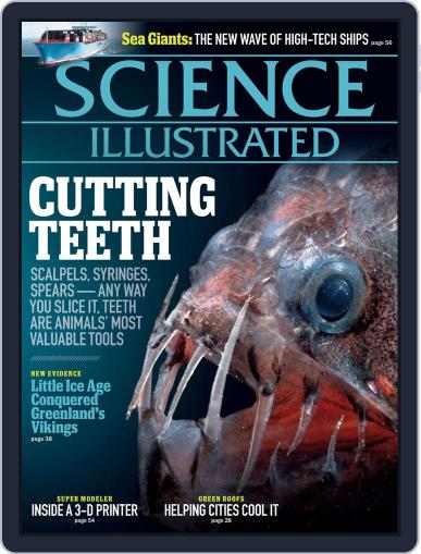 Science Illustrated Magazine (Digital) October 6th, 2012 Issue Cover