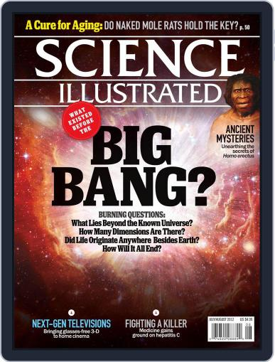 Science Illustrated Magazine (Digital) June 19th, 2012 Issue Cover