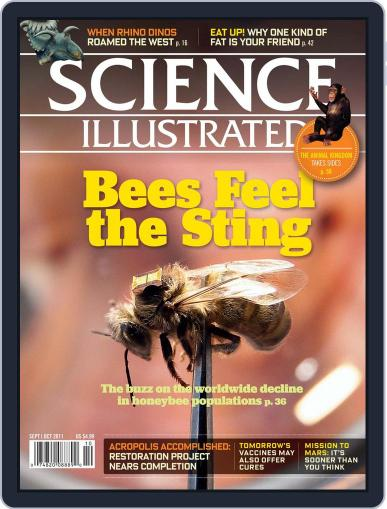 Science Illustrated Magazine (Digital) August 19th, 2011 Issue Cover