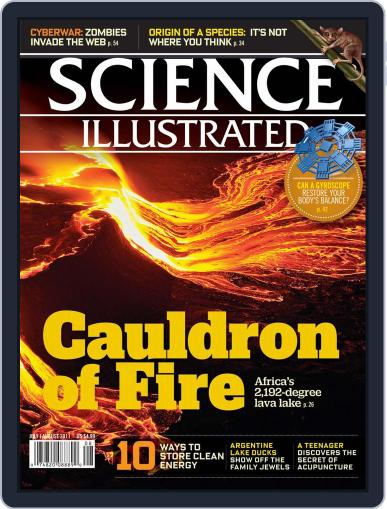 Science Illustrated Magazine (Digital) June 17th, 2011 Issue Cover
