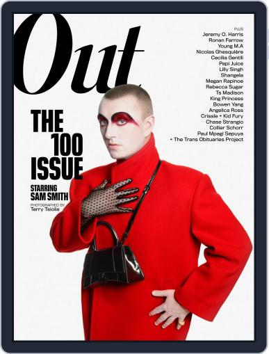 OUT (Digital) November 1st, 2019 Issue Cover