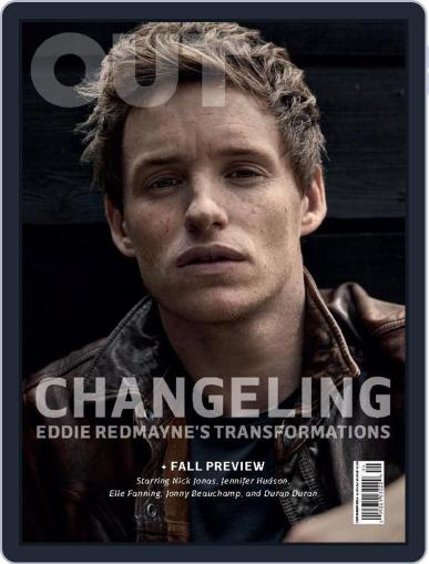 OUT (Digital) September 1st, 2015 Issue Cover