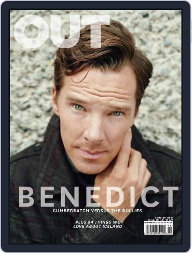 OUT (Digital) October 31st, 2014 Issue Cover