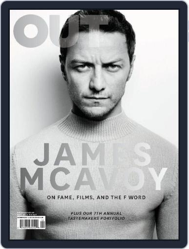 OUT (Digital) October 1st, 2014 Issue Cover
