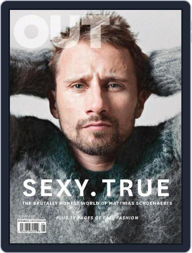 OUT (Digital) August 31st, 2014 Issue Cover