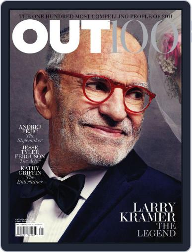 OUT (Digital) November 15th, 2011 Issue Cover