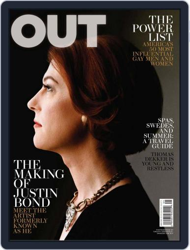 OUT (Digital) April 27th, 2011 Issue Cover