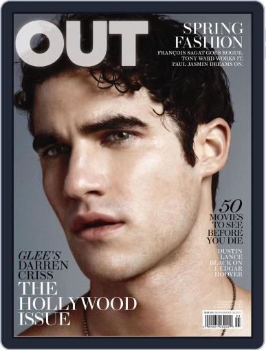 OUT (Digital) February 22nd, 2011 Issue Cover