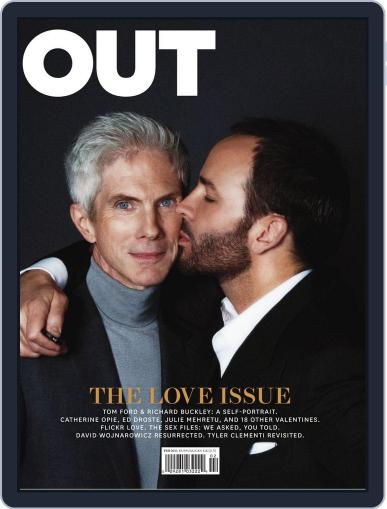 OUT (Digital) January 25th, 2011 Issue Cover