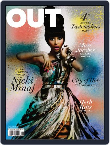 OUT (Digital) September 14th, 2010 Issue Cover