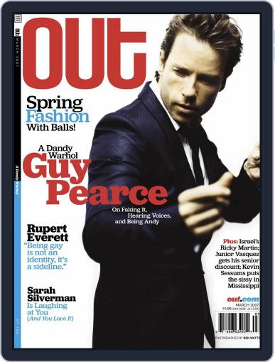 OUT (Digital) February 13th, 2007 Issue Cover