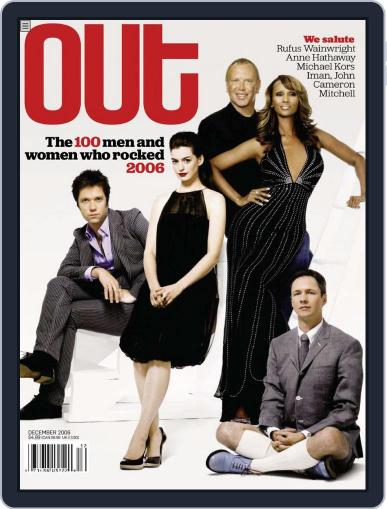 OUT (Digital) November 14th, 2006 Issue Cover