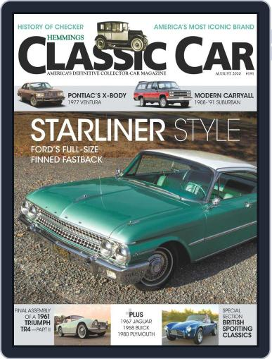 Hemmings Classic Car (Digital) August 1st, 2020 Issue Cover