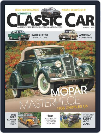 Hemmings Classic Car (Digital) May 1st, 2020 Issue Cover