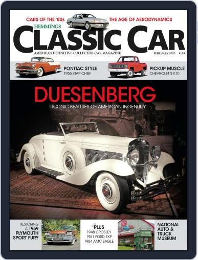 Hemmings Classic Car (Digital) February 1st, 2020 Issue Cover