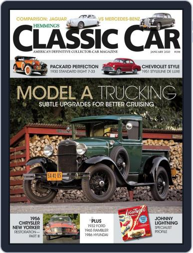Hemmings Classic Car (Digital) January 1st, 2020 Issue Cover