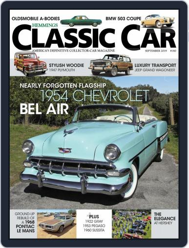 Hemmings Classic Car (Digital) September 1st, 2019 Issue Cover