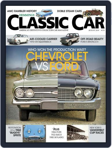 Hemmings Classic Car (Digital) August 1st, 2019 Issue Cover