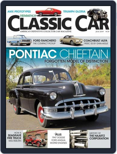 Hemmings Classic Car (Digital) July 1st, 2019 Issue Cover