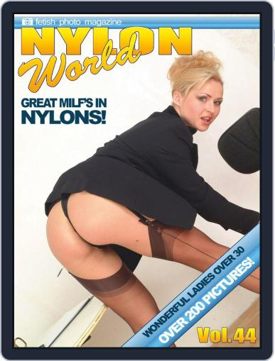 Nylons World Adult Fetish Photo April 24th, 2020 Digital Back Issue Cover