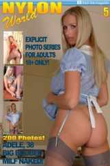Nylons World Adult Fetish Photo (Digital) Subscription January 1st, 2017 Issue