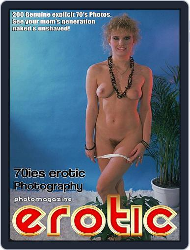 Erotics From The 70s Adult Photo November 7th, 2017 Digital Back Issue Cover