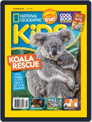 National Geographic Kids (Digital) May 1st, 2020 Issue Cover