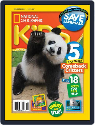 National Geographic Kids (Digital) April 1st, 2020 Issue Cover