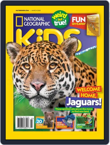 National Geographic Kids (Digital) March 1st, 2020 Issue Cover