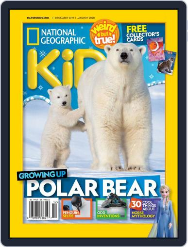 National Geographic Kids (Digital) December 1st, 2019 Issue Cover