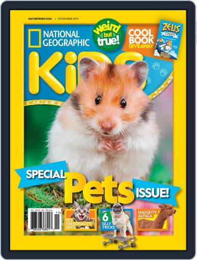 National Geographic Kids (Digital) November 1st, 2019 Issue Cover