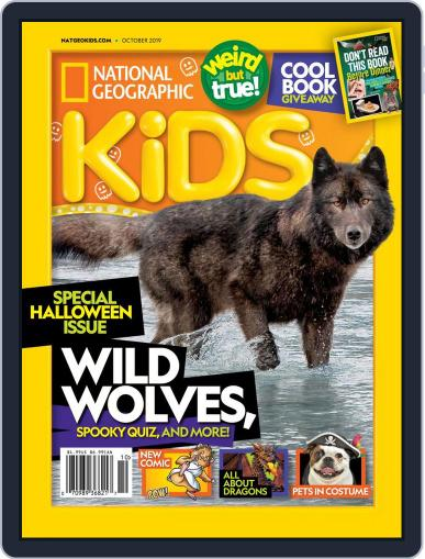 National Geographic Kids (Digital) October 1st, 2019 Issue Cover