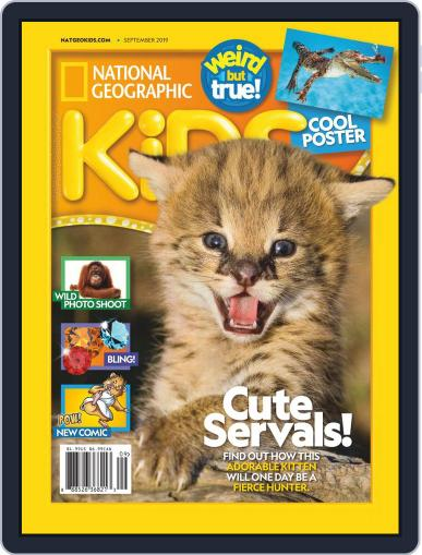 National Geographic Kids (Digital) September 1st, 2019 Issue Cover
