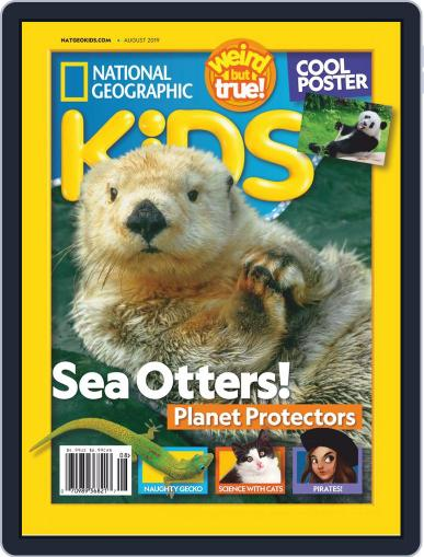 National Geographic Kids (Digital) August 1st, 2019 Issue Cover