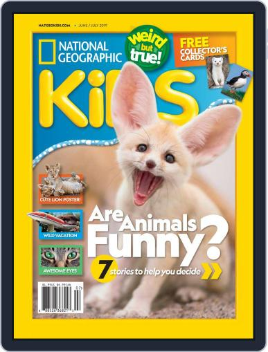 National Geographic Kids (Digital) June 1st, 2019 Issue Cover