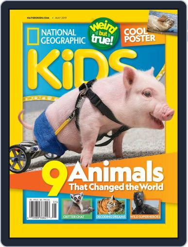 National Geographic Kids (Digital) May 1st, 2019 Issue Cover