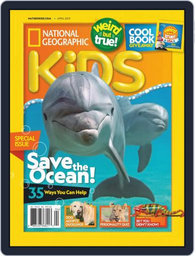 National Geographic Kids (Digital) April 1st, 2019 Issue Cover