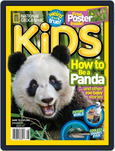 National Geographic Kids (Digital) August 1st, 2017 Issue Cover